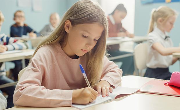 test taking elementary school